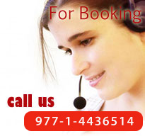 For Booking Call us at 977-1-4701153