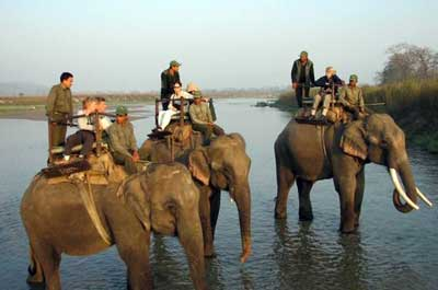 Safari in Chitwan National Park